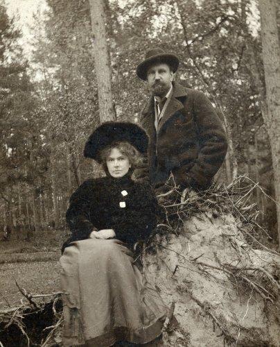 Rainis un Aspazija 1905