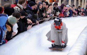 Luge driver
