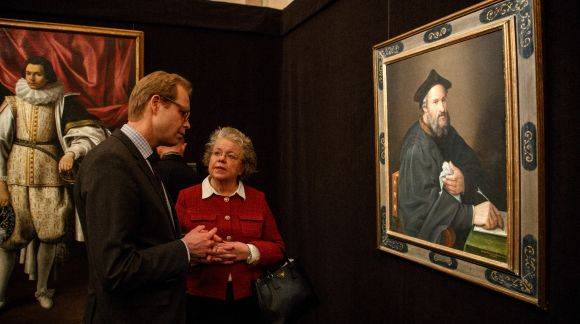 "Opening event of the exhibition ""Two Centuries of Italian Portrait Painting. 1580 – 1780"". Art Museum Riga Bourse. Photo: EU2015.LV"