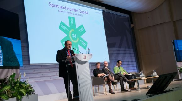 "International conference ""Sport and physical activity for development of the human capital"". © Ministry of Education and Science"