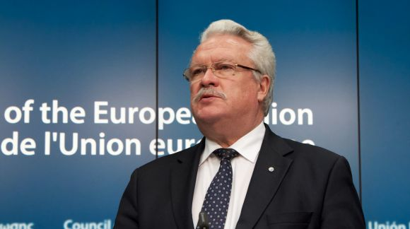Mr Janis DUKLAVS, Latvian Minister for Agriculture. © European Union