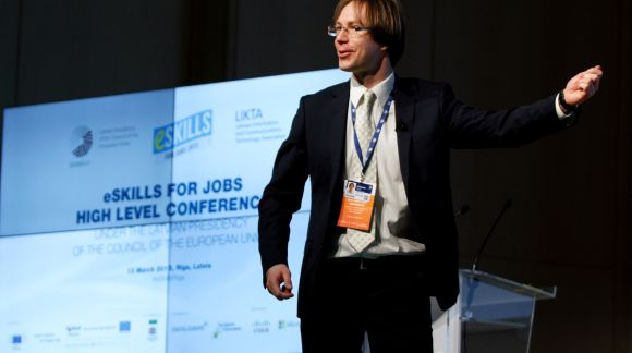 Moderator: Reinis Zitmanis, Digital Champion of Latvia.