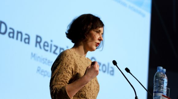 Ms Dana Reizniece-Ozola, Minister for Economy of the Republic of Latvia.