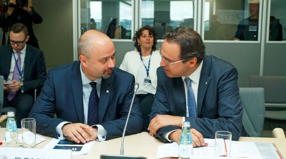 Meeting of Ministers in charge of Vocational Education and Training, the European Social Partners and the European Commission. Photo: EU2015.LV