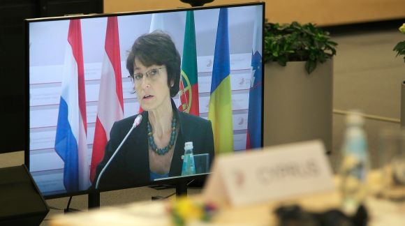 Ms Marianne Thyssen, Commissioner for Employment, Social Affairs, Skills and Labour Mobility. Photo: EU2015.LV