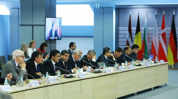 First Meeting of EU and Central Asian Ministers for Education. Photo: EU2015.LV