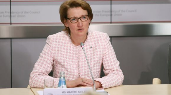 Mārīte Seile, Minister for Education and Science of the Republic of Latvia. Photo: EU2015.LV