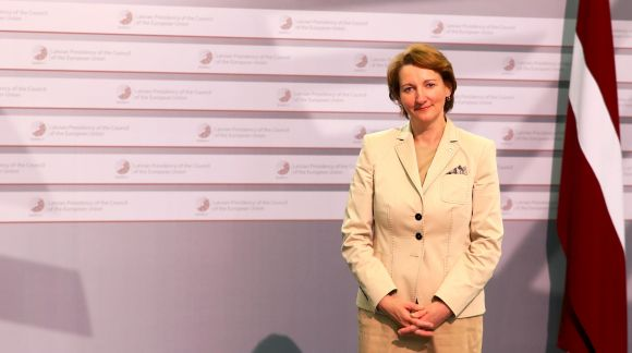 Ms Mārīte Seile, Latvian Minister for Education and Science. Photo: EU2015.LV
